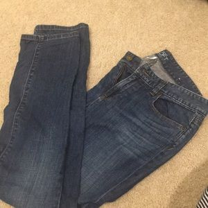 Loft - modern straight jeans - 6
